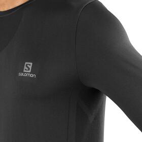 Salomon Sense Longsleeve T-Shirt Heren, black